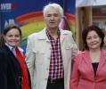 Actualul director al BCU , doamna Mireille Radoi si fostul director , domnul Ioan Stoica